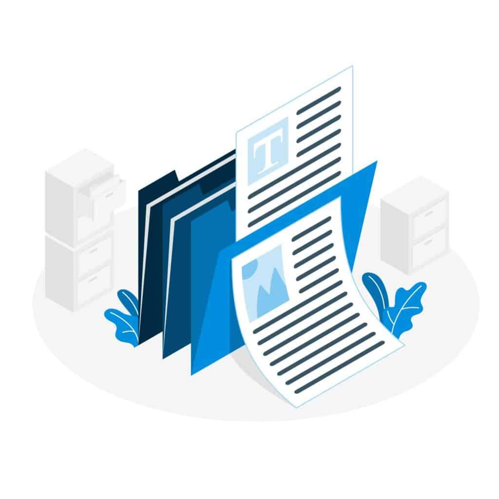 Image du descriptif des documents types