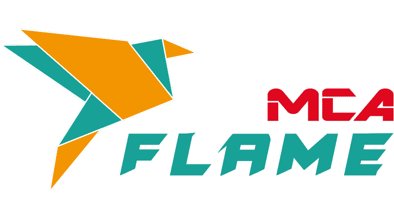 Logo du logiciel MCA Flame, développé par MCA-Concept